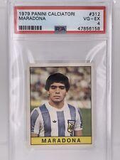 Diego Maradona Professional Sports Psa Soccer Cards For Sale Ebay