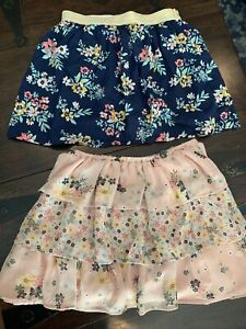 Pair Of Girls Gap Carters Size 6/7 Skirts