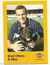 2005 AFL GEELONG CATS BRAD OTTENS AND RILEY AUSKICK PEDIGREE CARD