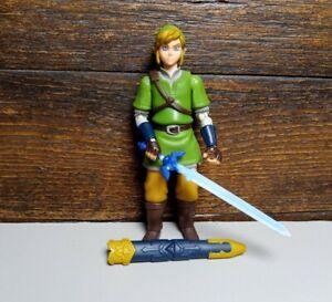 "World Of Nintendo Skyward Sword Link 4"" Action Figure Jakks Pacific"