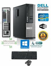 Dell Computer 390 Core i3-2120 DESKTOP 3.10Ghz 4Gb 250Gb Windows 10 hp 64 DVI