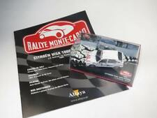 1/43 CITROËN VISA 1000 PISTES Rallye Monte Carlo ANDRUET 1985 ALTAYA + Booklet