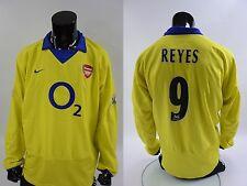 2003-05 nike Arsenal GUNNERS Away Long Sleeve REYES 9 SIZE 2XL (XXL adults)