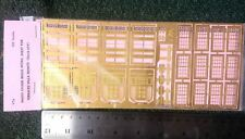 Langley Models Etching for terraced Villa fronts V7 OO Scale UNPAINTED Kit V7a