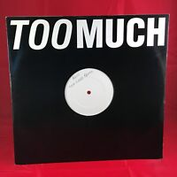 "BROS Too Much Rare White Label One Sided Test Pressing 12"" Vinyl Matt Luke Goss"
