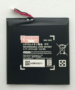 Brand New HAC-003 for Nintendo Switch 4310mAh Replacement Battery