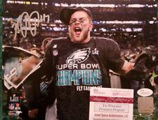 Nate Gerry Autograph Signed Philadelphia Eagles 8x10 Photo JSA Witness COA