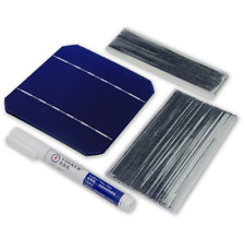 10pcs Mono Solar Cells 2.8W 125 x 125mm Monocrystalline Silicon Sunpower Cells