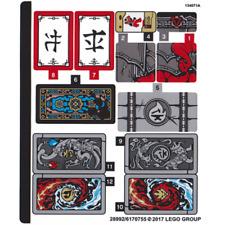 LEGO NINJAGO Neuf NEW Sticker for Set 70641-70641stk01