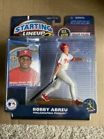 2001 STARTING LINEUP 2 SLU - MLB - BOBBY  ABREU- PHILADELPHIA PHILLIES