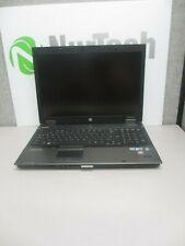 "HP EliteBook 8740w 17"" i5 2.4GHz 8GB/160GB Webcam Linux Laptop No Battery + AC"
