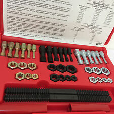 Craftsman 40-pc Piece Tap and Dies Master Thread Restorer Kit Metric Steel NEW