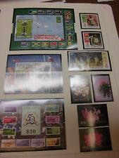 Sammlung Jamaika 2001-2008 (bis Bl 6) komplett (ohne Sk) postfrisch (333)