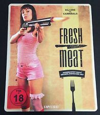 FRESH MEAT Blu-Ray SteelBook German Exclusive Killers vs Cannibals OOP Rare Demo