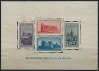 Spain - 1938 - Scott # B108E - Souvenir Sheet - Mint Very Lightly Hinged