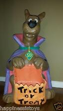 Scooby Doo Vampire Halloween Door Greeter Candy Bowl Dish Warner Bros Store WBSS
