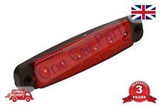 12 V SMD 6 LED ROSSO POSIZIONE LUCE di posizione laterali Camion Rimorchio di qualità