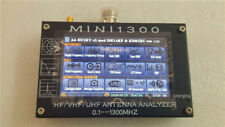 "Mini1300 4.3"" LCD 0.1-1300MHz HF/VHF/UHF ANT SWR Antenna Analyzer Meter Tester"