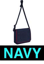 Supreme x LACOSTE Small Messenger Bag Navy Box logo shoulder bag wasit bag