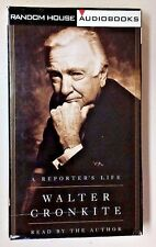 Walter Cronkite A Reporter's Life (1996 AudioBook Abridged Playtested 4 tapes)
