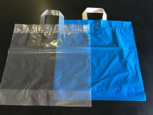 100 x Boutique Style Shopping Carrier, Gift Bag with Loop Handles:440mmx450mm