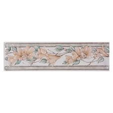 AREZIA listello da parete FLOREALE BEIGE in ceramica 8x30cm