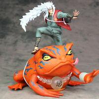 Anime Naruto Shippuden JIRAIYA Gama-Bunta PVC Action Figure Model Toy Gift 6''