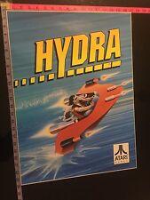 Hydra Atari Games Vintage Side Cabinet Arcade Sticker New Original