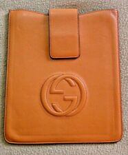 """Gucci Leather Tablet Sleeve 10"""" x 8"""""""