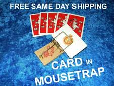 Card In Mousetrap Includes All Cards, Trap, Instructions Free Same Day Shipping