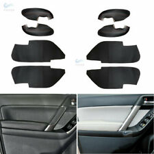 4x Door Handle Armrest Panels Leather Covers Kit for Subaru Forester 2013-2018