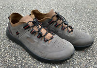 Keen Mens Outdoor Highland Steel Grey Leather Hybrid Trail Sneaker Shoes Size 13