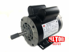 "2 HP Single Phase SPL 3450 RPM 56 Frame 120/240V 15/7.5Amp 5/8"" Shaft NEMA Motor"