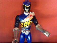 Power Rangers Dino Super Charge  BLUE RANGER Action Figure Bandai