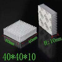 40x40x10mm Aluminum Heatsink Cooling for LED Power Memory Chip IC Transistor