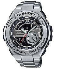 Casio G-Shock G-STEEL *GST210D-1A Anadigi Silver Stainless Steel Ivanandsophia