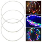 LED Light-Up Exercise Fitness Hoop Dance Lose Weight Colour Changing Detachable