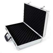 Aluminum Framed Locking Gun Pistol HandGun Lock Box Hard Storage Carry Cases