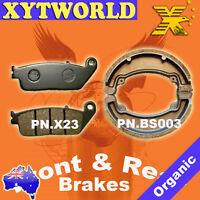 FRONT REAR Brake Pads Shoes HONDA CB 250 1992-1999 2000 2001 2002 2003 2004 2005