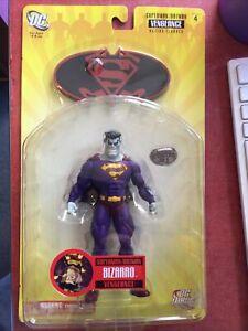 SUPERMAN/BATMAN SERIES 4 VENGEANCE BIZARRO ACTION FIGURE NOC 2007 DC