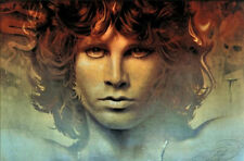 Jim Morrison The Doors - 7x11 Fabric Block - Buy 2, Get 3rd FREE Bella Stitchery