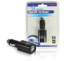 HQ doppia uscita USB per auto o in camion Caricatore Input 12 V o 24 V DC-Output 5 V DC