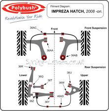 Polybush Rear Trail Arm to Body for Subaru Impreza/WRX/Sti GH/GR 10/07-12/10 36R