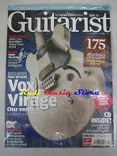 GUITARIST Magazine SEALED Ago 2008 + cd Paul Gilbert  Red Hot Chili Peppers Kiss