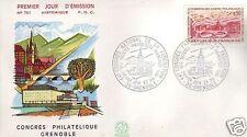 1681+ FDC ENVELOPPE 1er JOUR  CONGRES SOCIETES PHILATEL