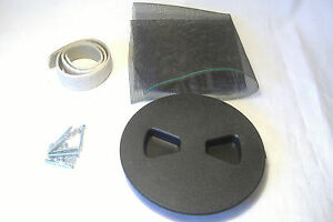 """Sidecar Air Vent 4"""" Floor Mount Champion Eagle California Harley Motorcycle"""