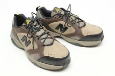 New Balance Industrial 627 Mens Shoe 10.5 4E Beige Brown Suede Safety Toe Slip