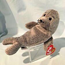 Slippery Seal Ty Beanie Baby #4222 1999 Pe Retired Grey $7.99