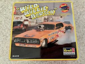Revell Wild Willie Borsch Dodge Charger NHRA Funny Car