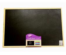 Wooden Frame Chalkboard Blackboard Office Notice Menu Sign Board - 60 x 40cm